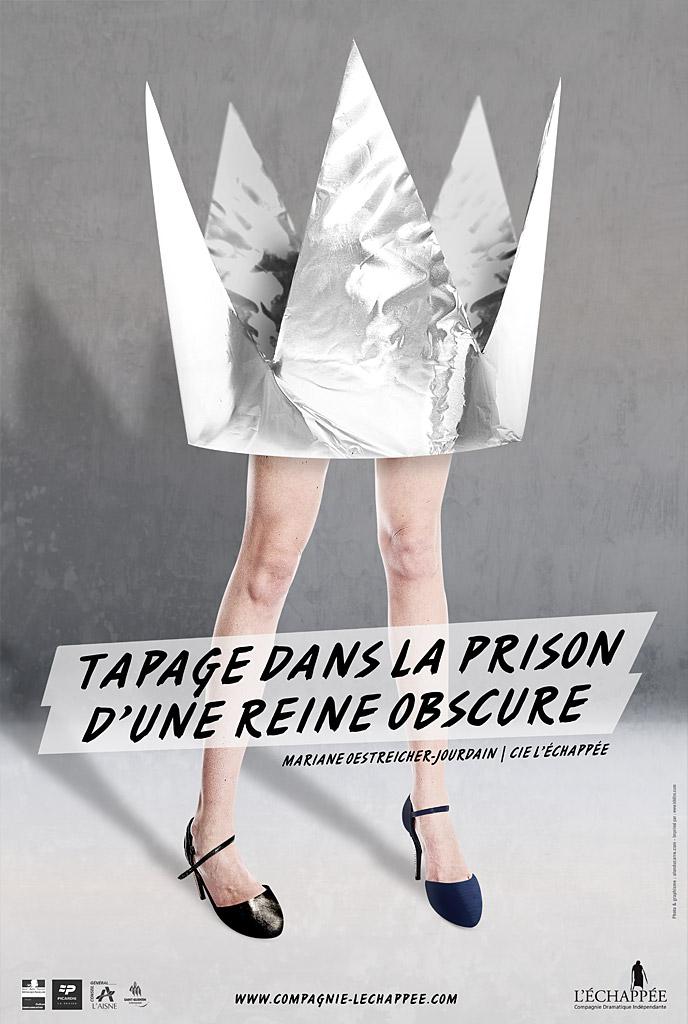 tapage_dans_la_prison_dune_reine_obscure_affiche